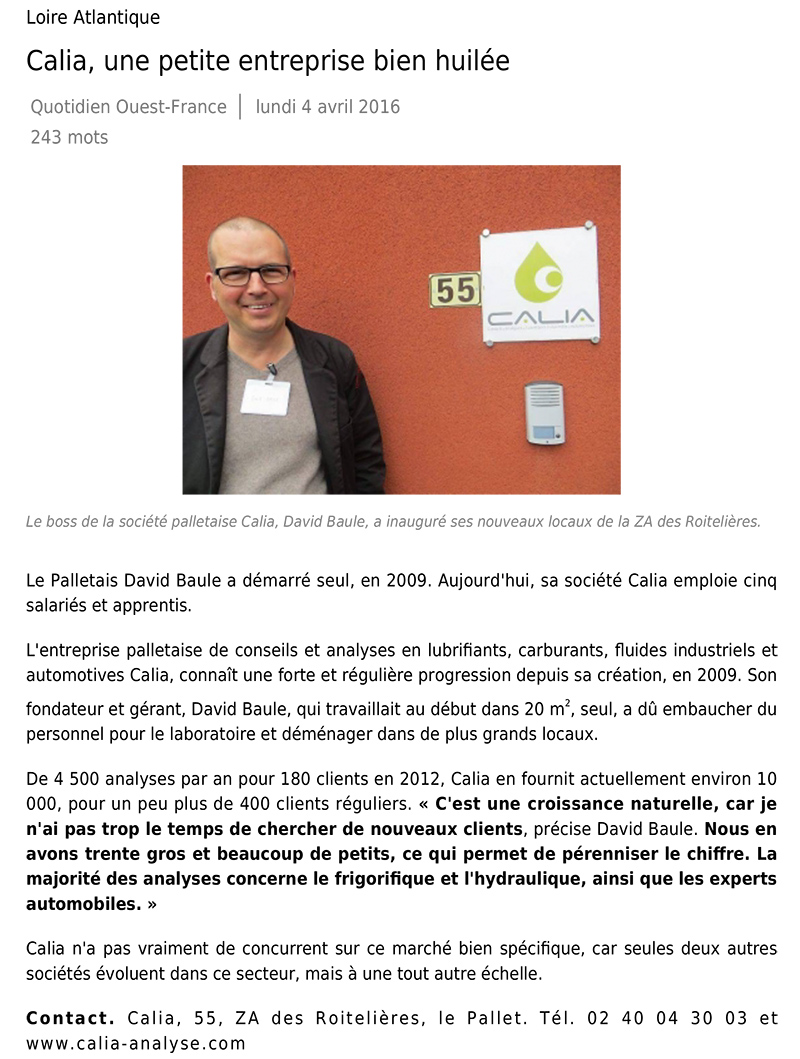 calia article ouste france 04-04-2016